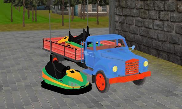 bumper truck transport sim poster
