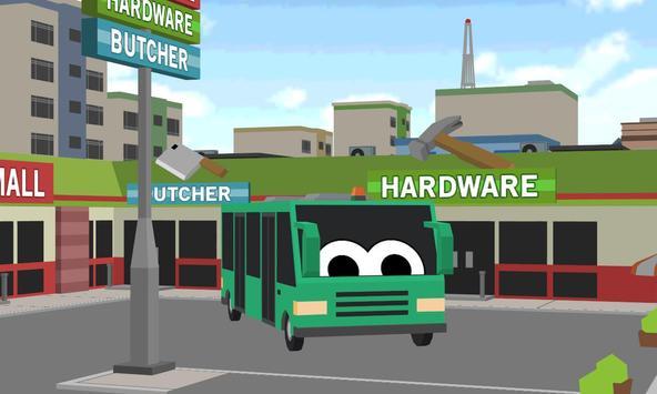 Blocky City Bus Sim Craft poster
