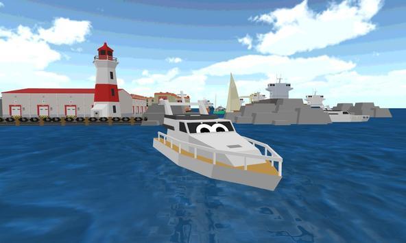 Blocky City Bus Sim Craft apk screenshot
