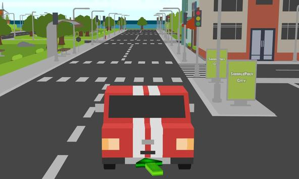 blocky racing cars parker sim apk screenshot