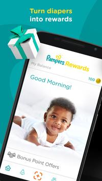 Pampers Rewards: Baby care & gifts for parents poster