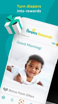 Pampers Rewards poster