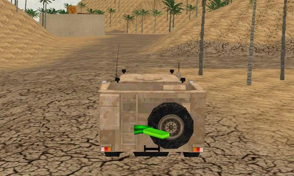 duty driver army 4X4 offroad 2 apk screenshot