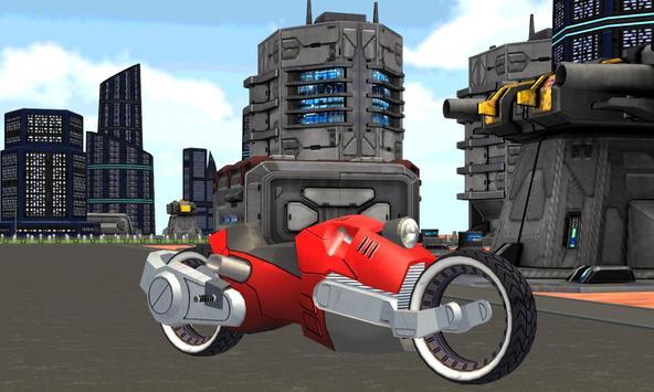 Future San Andreas Motorcycle screenshot 3