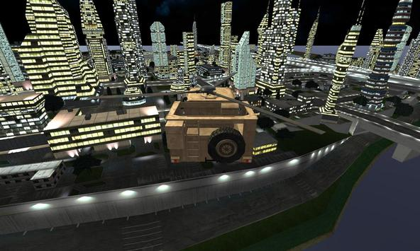 flying helicopter jeep car sim apk screenshot