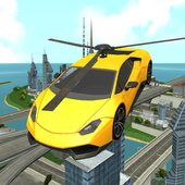 Flying Helicopter Car Rescue icon