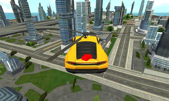 Flying Helicopter Car Rescue apk screenshot