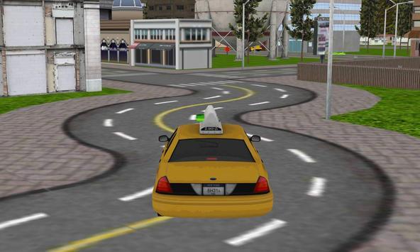 hill climb taxi driver parker apk screenshot
