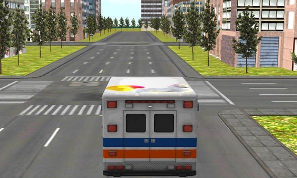 Kids Unicorn Ambulance Parking apk screenshot