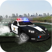 Police Drift Car - Highway Chase Driving Simulator icon