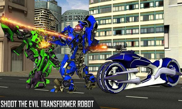 Robots War 2017 - super moto hero poster