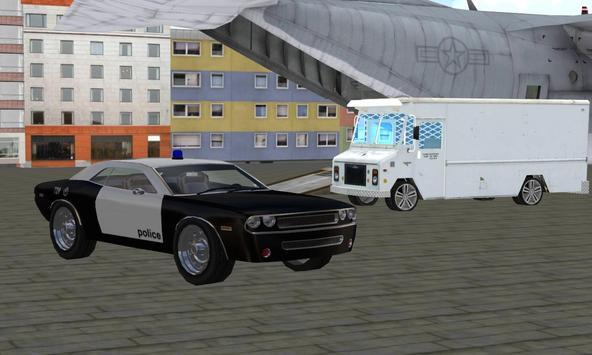 Police Plane Transporter Park apk screenshot