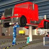 Real Truck Mechanic Garage icon