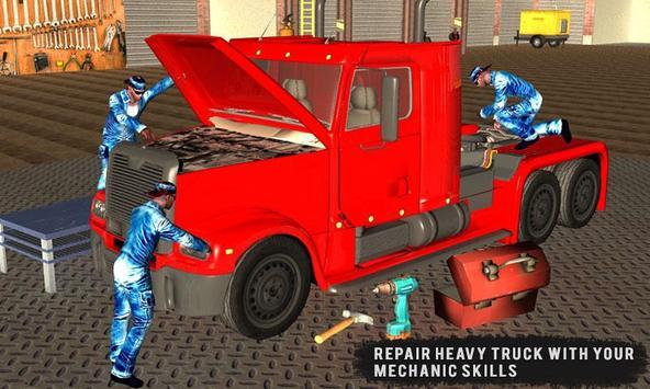 Real Truck Mechanic Garage apk screenshot