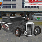 Real Time Hot Rod Racers Sim icon