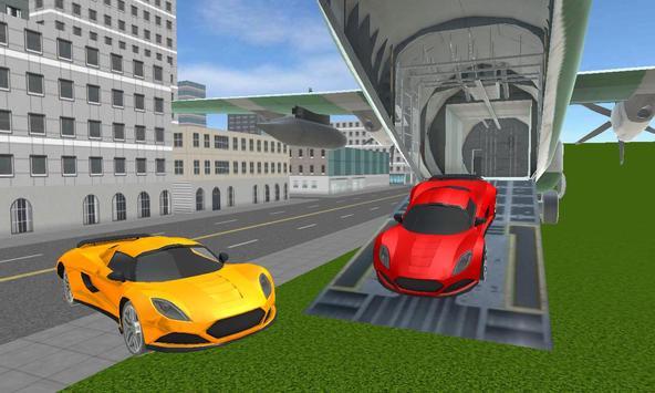real racing cars cargo plane apk screenshot