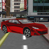 real robot cars driving sim 3D icon