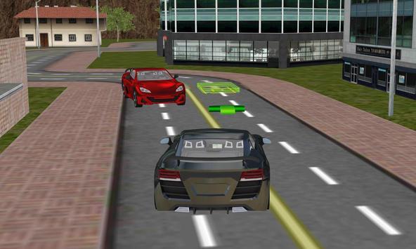 real robot cars driving sim 3D apk screenshot