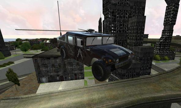 SWAT Helicopter Jeep Ghetto 3D screenshot 9