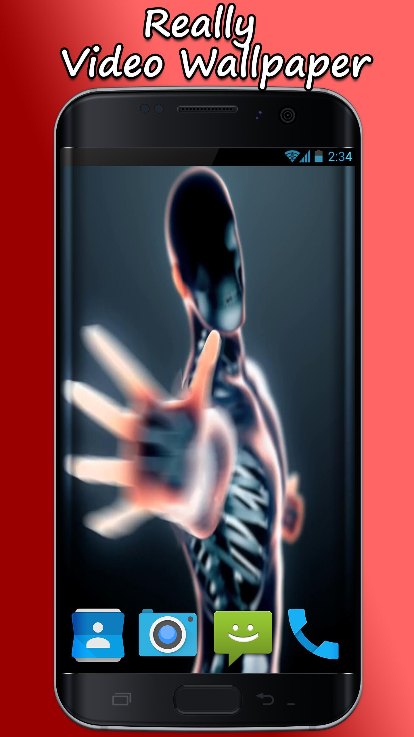 Android 用の スケルトンダンスライブ壁紙 Apk をダウンロード