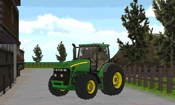 Tractor Farming Simulator Park poster