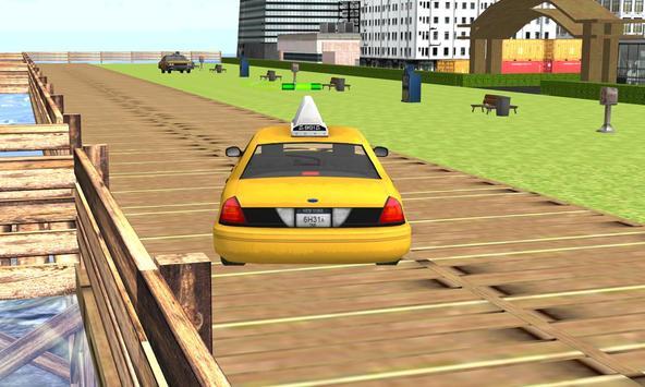 vegas taxi car parking sim 3D apk screenshot