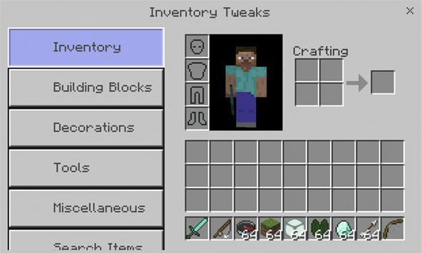 Inventory Tweaks Addon poster