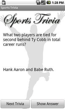 Sports Trivia Collection Free screenshot 1