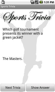 Sports Trivia Collection Free screenshot 3