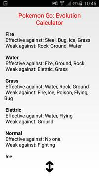 CP evolution calculator Pokemo screenshot 2