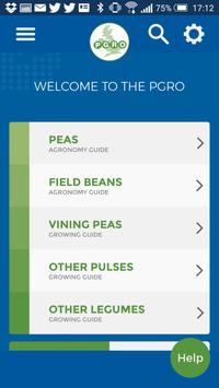 PGRO Pea and Bean Guide poster