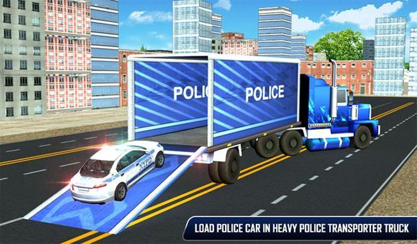 Police Plane Moto Transporter screenshot 12