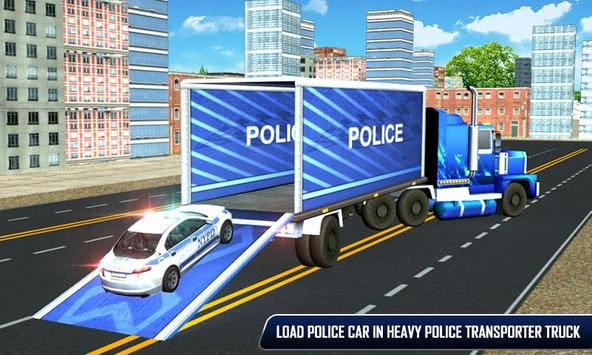 Police Plane Moto Transporter screenshot 1