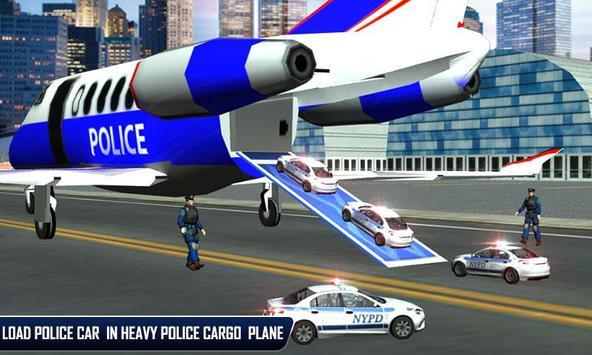 Police Plane Moto Transporter screenshot 3