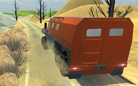 8 Wheeler Russian Truck apk screenshot