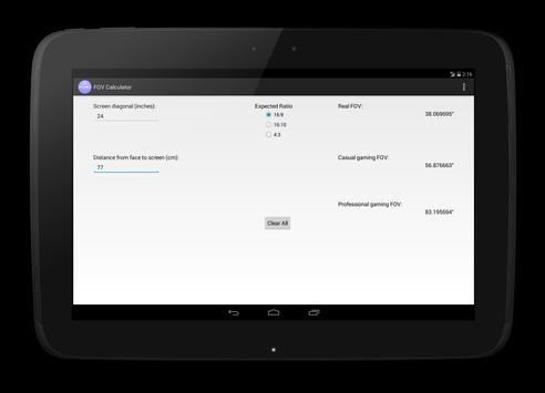 FOV Calculator for Android - APK Download