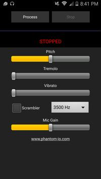 Real-Time Voice Scrambler apk screenshot