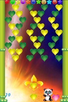 Bubble Valentine poster