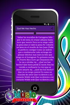 Canciones de Chayanne apk screenshot