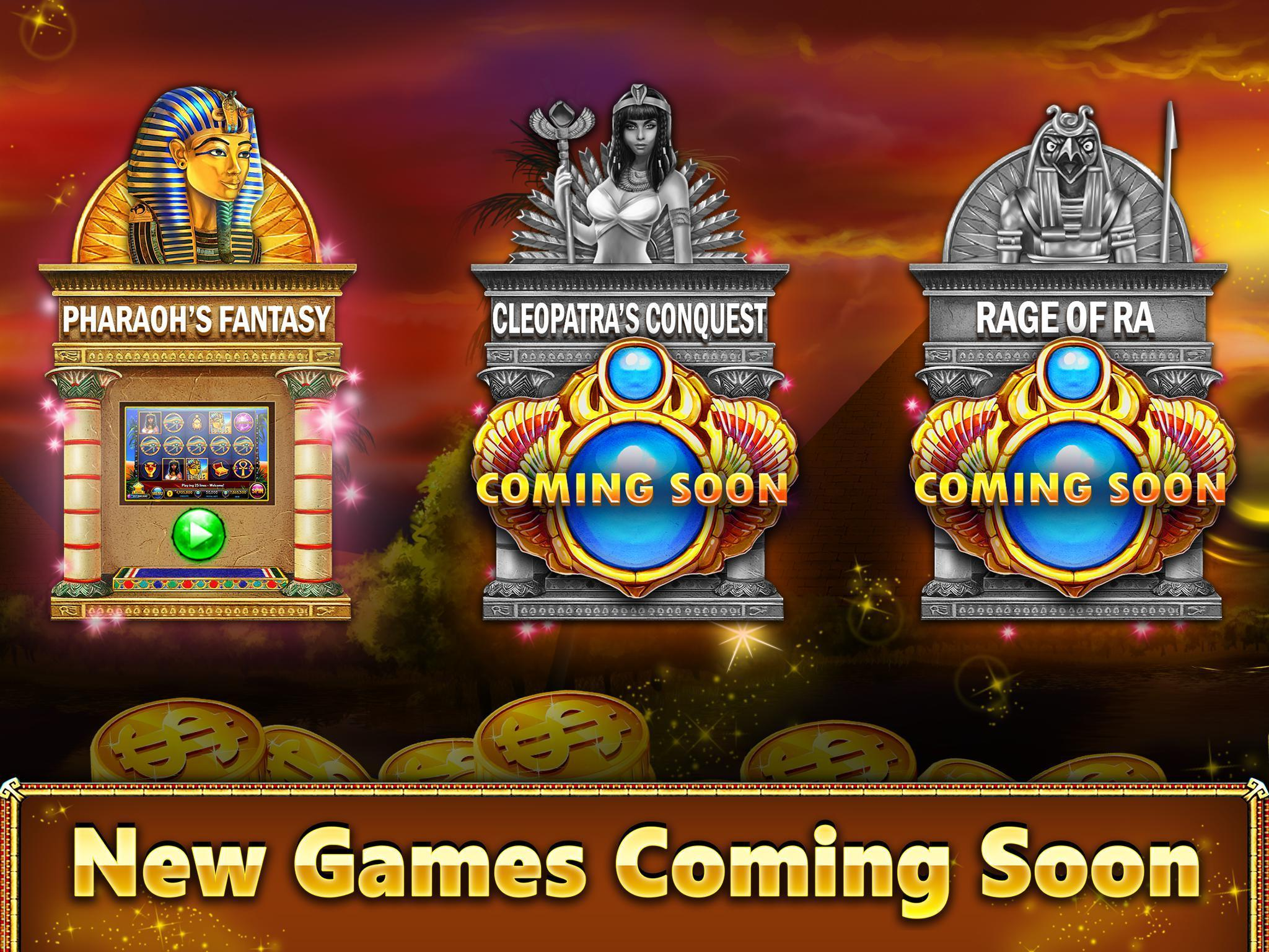 Pharaoh's Slot Machines™ FREE poster