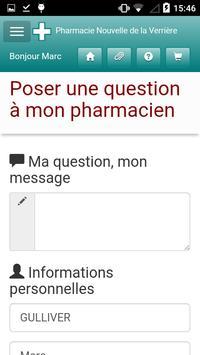 Pharmacie de la Verrière screenshot 2