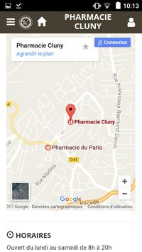 Pharmacie Cluny apk screenshot
