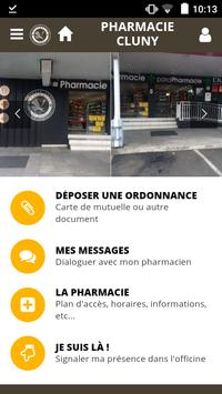 Pharmacie Cluny poster
