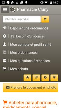 Pharmacie Cluny apk screenshot