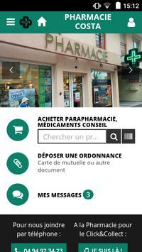 Pharmacie Costa poster
