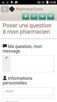 Pharmacie Costa apk screenshot