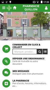 Pharmacie Quillon poster