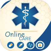 Online Care- Top pharmacies & Worldwide delivery icon