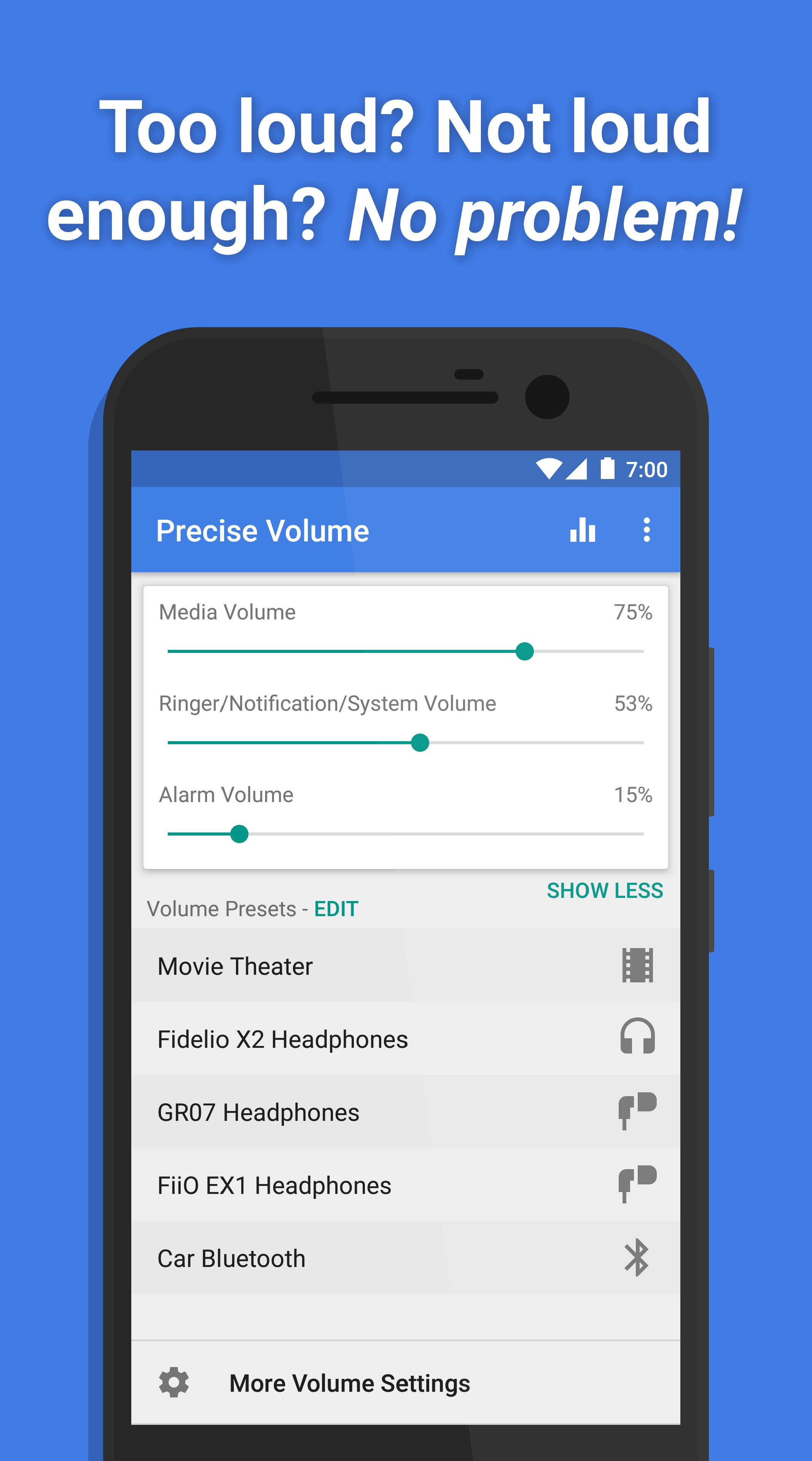 Precise Volume for Android - APK Download