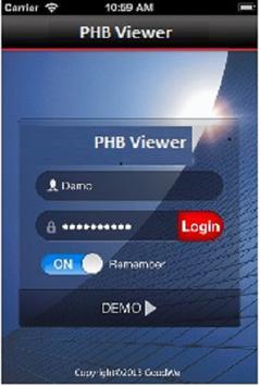 PHB Viewer screenshot 1